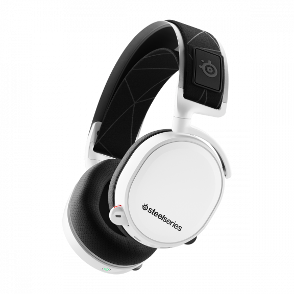 SteelSeries Arctis 7 White - 2019 Edition Gaming Headset