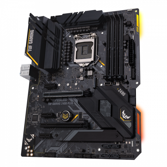 ASUS TUF GAMING Z490-PLUS Bundkort