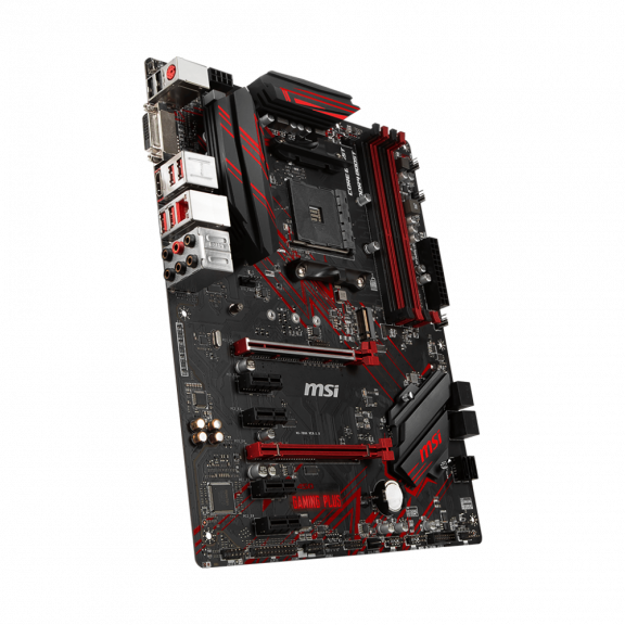 MSI B450 GAMING PLUS Bundkort