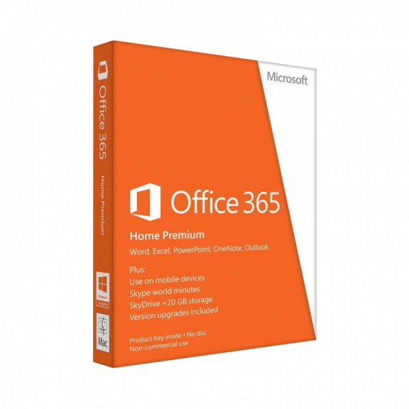 Microsoft Office 365 Home Premium - Dansk
