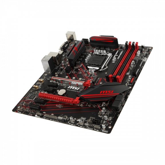 MSI B360 GAMING PLUS Bundkort