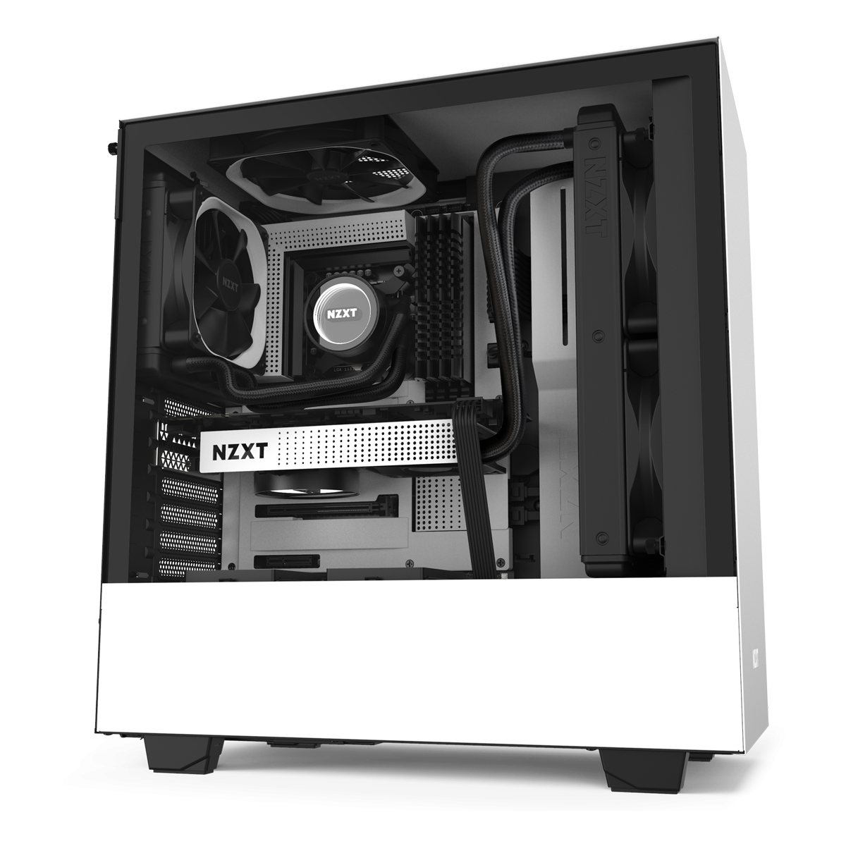 NZXT H510 Hvid SG Edition
