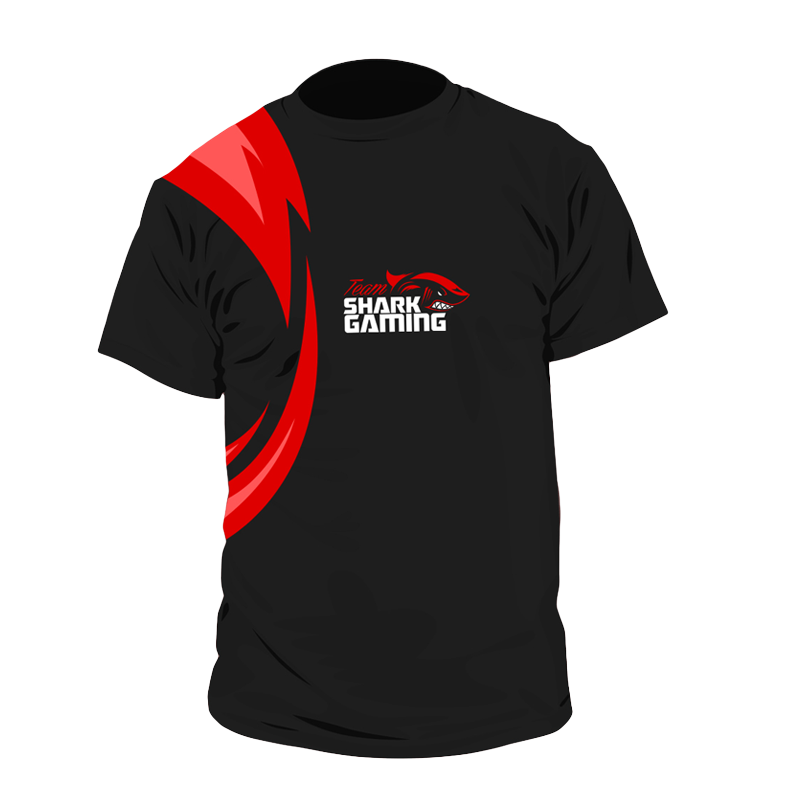 Shark Gaming t-shirt - Born to Kill - Large