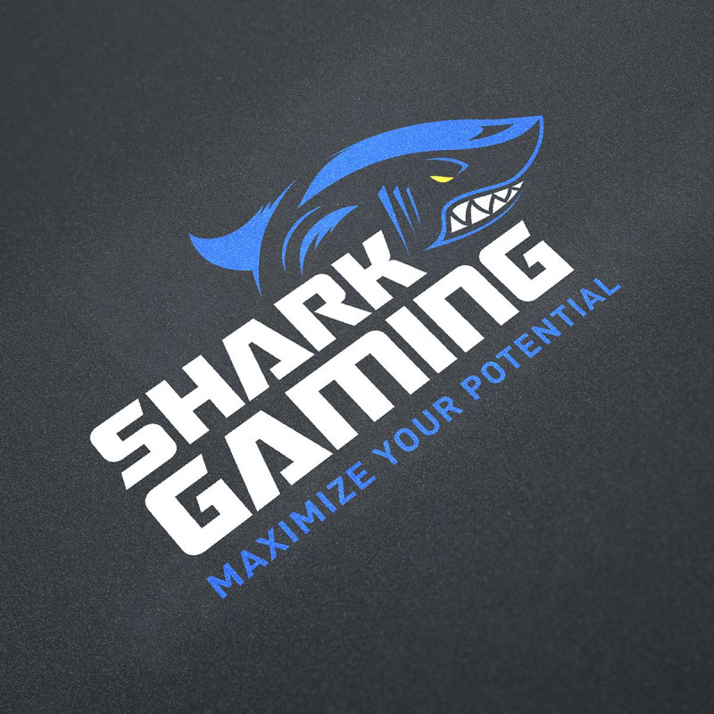 Dimensioner Shark Gaming Floor Mat