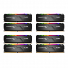 Kingston HyperX Fury RGB 8x8GB 2666MHz RAM