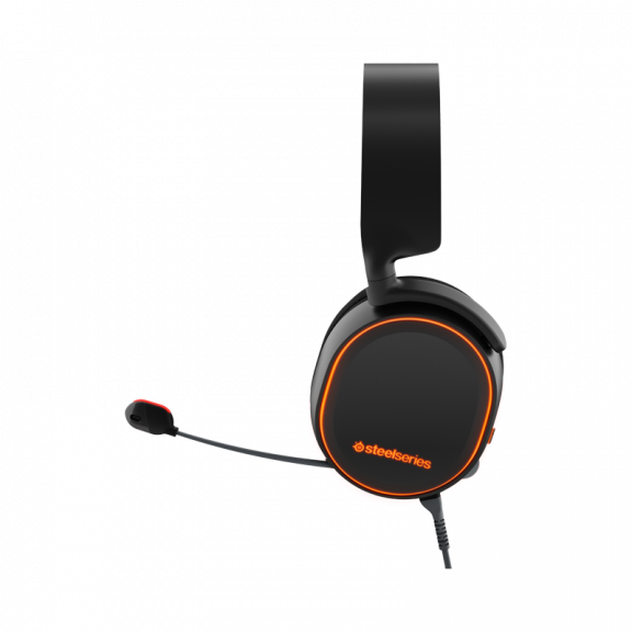 SteelSeries Arctis 5 Headset - Svart