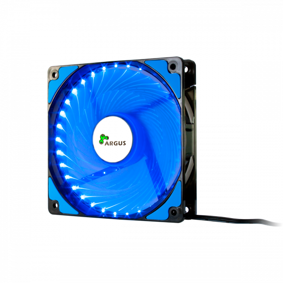Intertech Fan 120mm blue