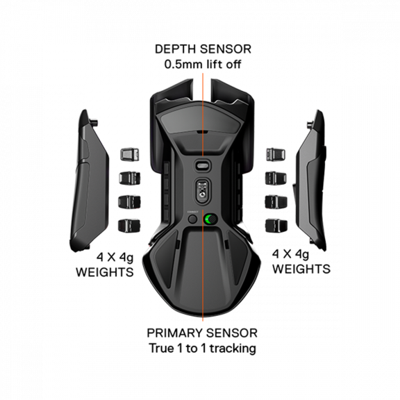 SteelSeries Rival 650 Wireless Mus