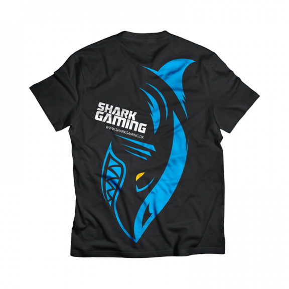 Shark Gaming T-Shirt - Svart - M