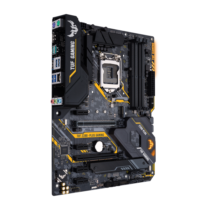 ASUS TUF Z390 PLUS Gaming (WI-FI) Bundkort