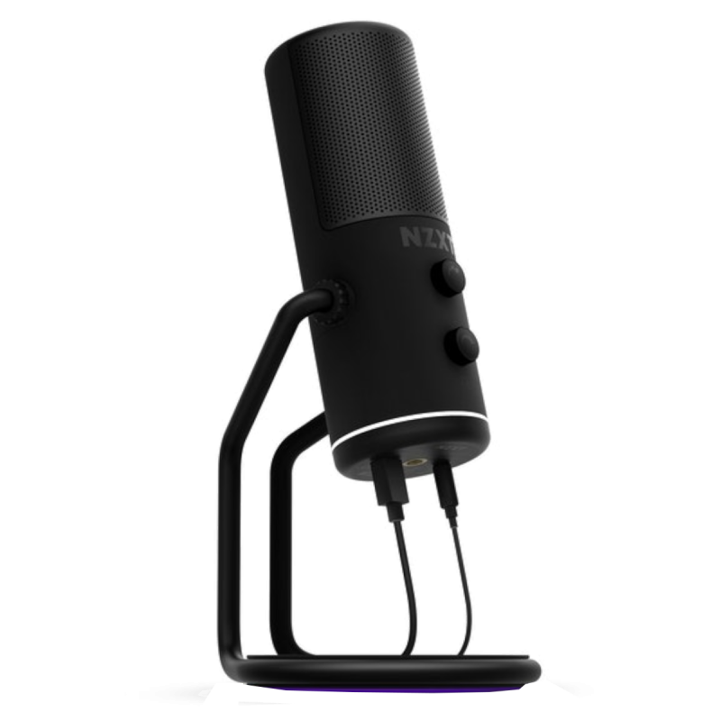 NZXT Wired USB Microphone - Black