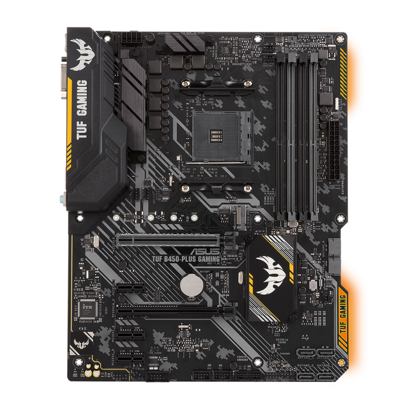ASUS TUF B450 Plus Gaming Moderkort