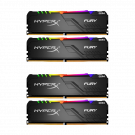 Kingston HyperX Fury RGB 4x8GB 3200MHz RAM