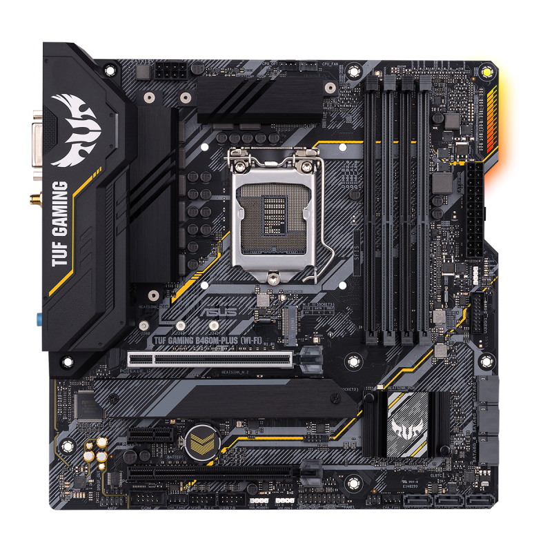 ASUS TUF GAMING B460M-PLUS WIFI Hovedkort