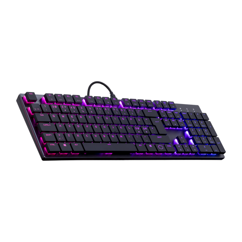 Cooler Master SK650 Cherry low red