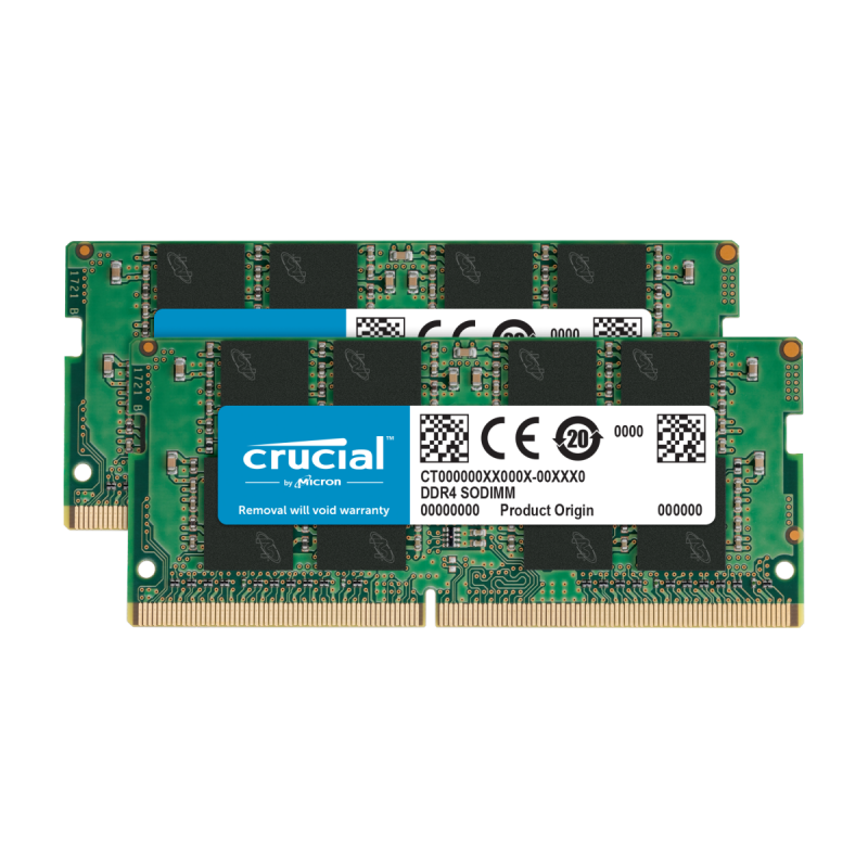 Crucial DDR4 2x16GB 2666MHz CL19 Notebook
