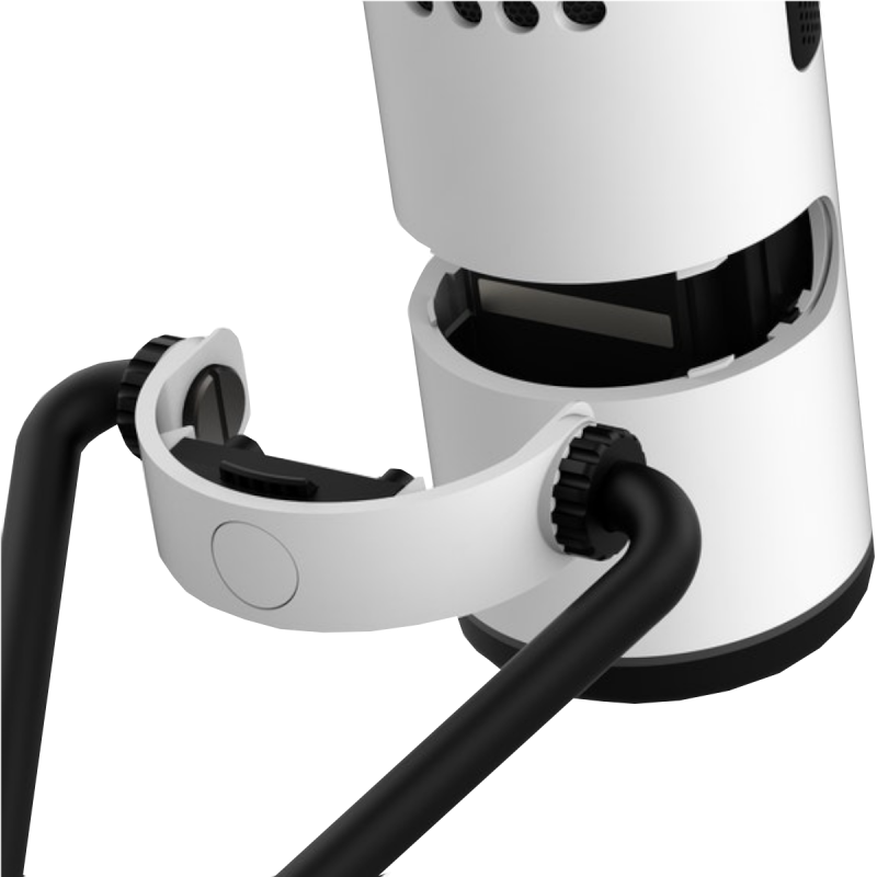 NZXT Wired USB Microphone - White