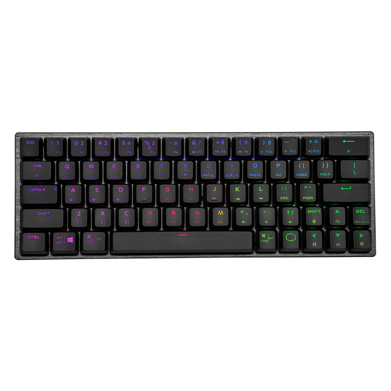 Cooler Master SK622 Space Grey Red Tastatur