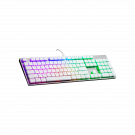 Cooler Master SK650 Cherry low red White Edition Gaming Tastatur