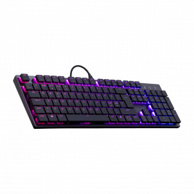 Cooler Master SK650 Cherry low red Gaming Tastatur