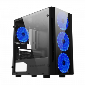 Cooler Master S400 Silencio Tempered Glass Kabinett