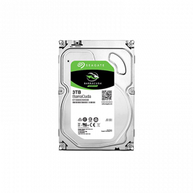 "Seagate Barracuda 3TB 3.5"" 5,400 HDD  RPM"