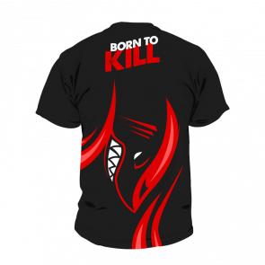 Shark Gaming t-shirt - Born to Kill - Small