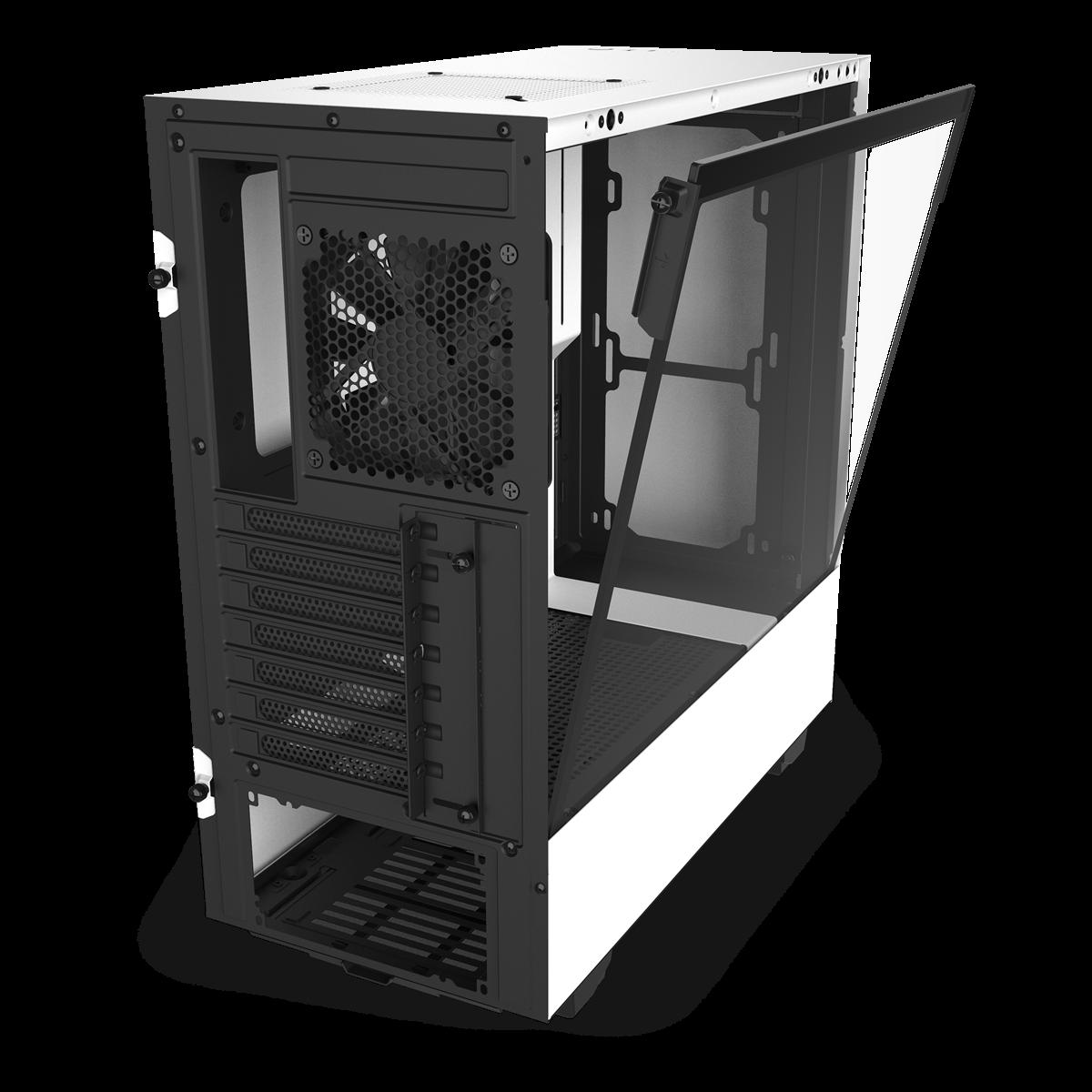Aer F120mm NZXT H510 Hvid SG Edition Kabinett
