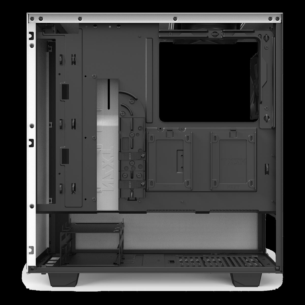 Kabelføring NZXT H510 Hvid SG Edition Kabinet