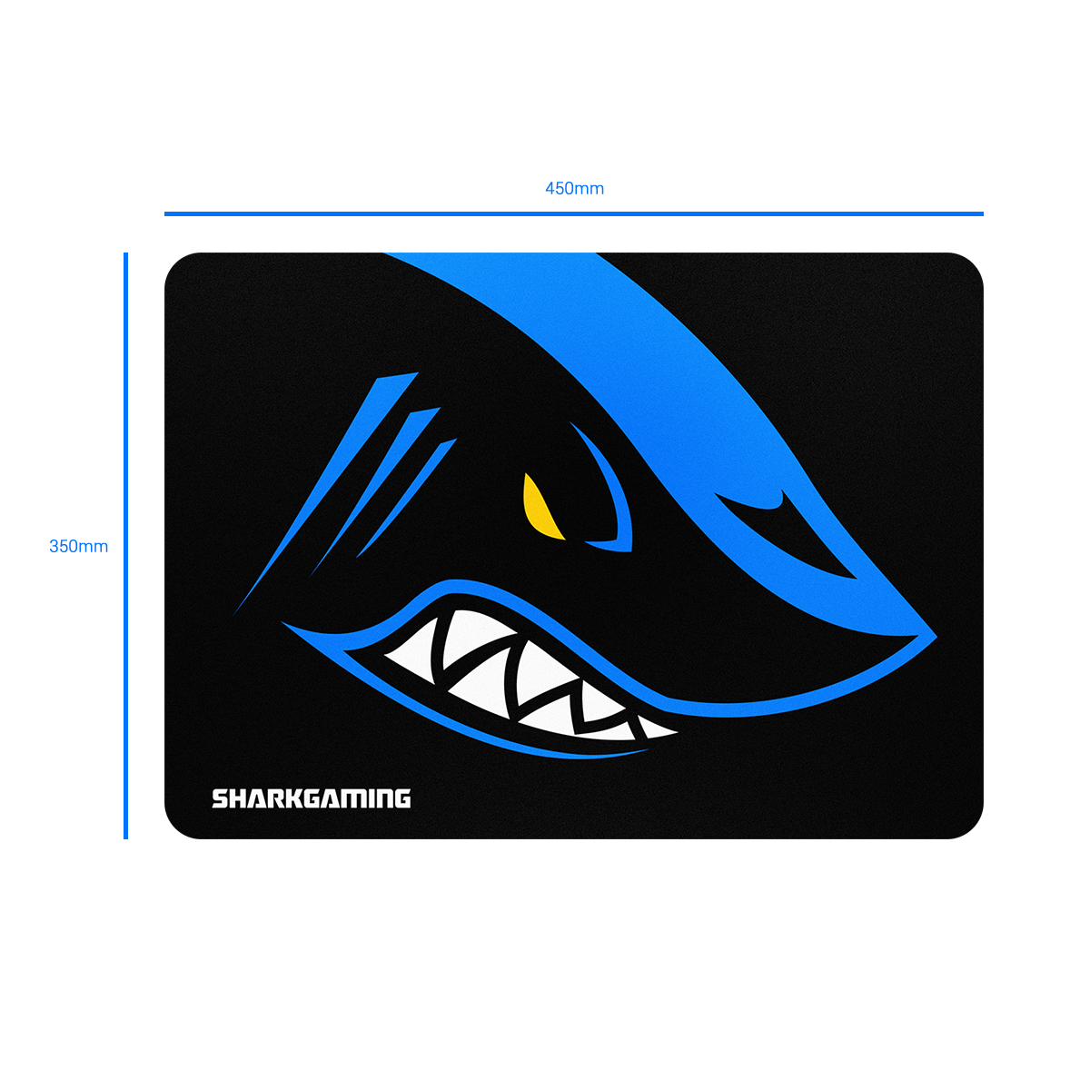 Størrelse Shark Musemåtte