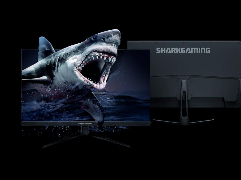 """Tvättäkta Gamingskärm Shark Gaming SG24240 24.5"""" 240Hz Skärm"""