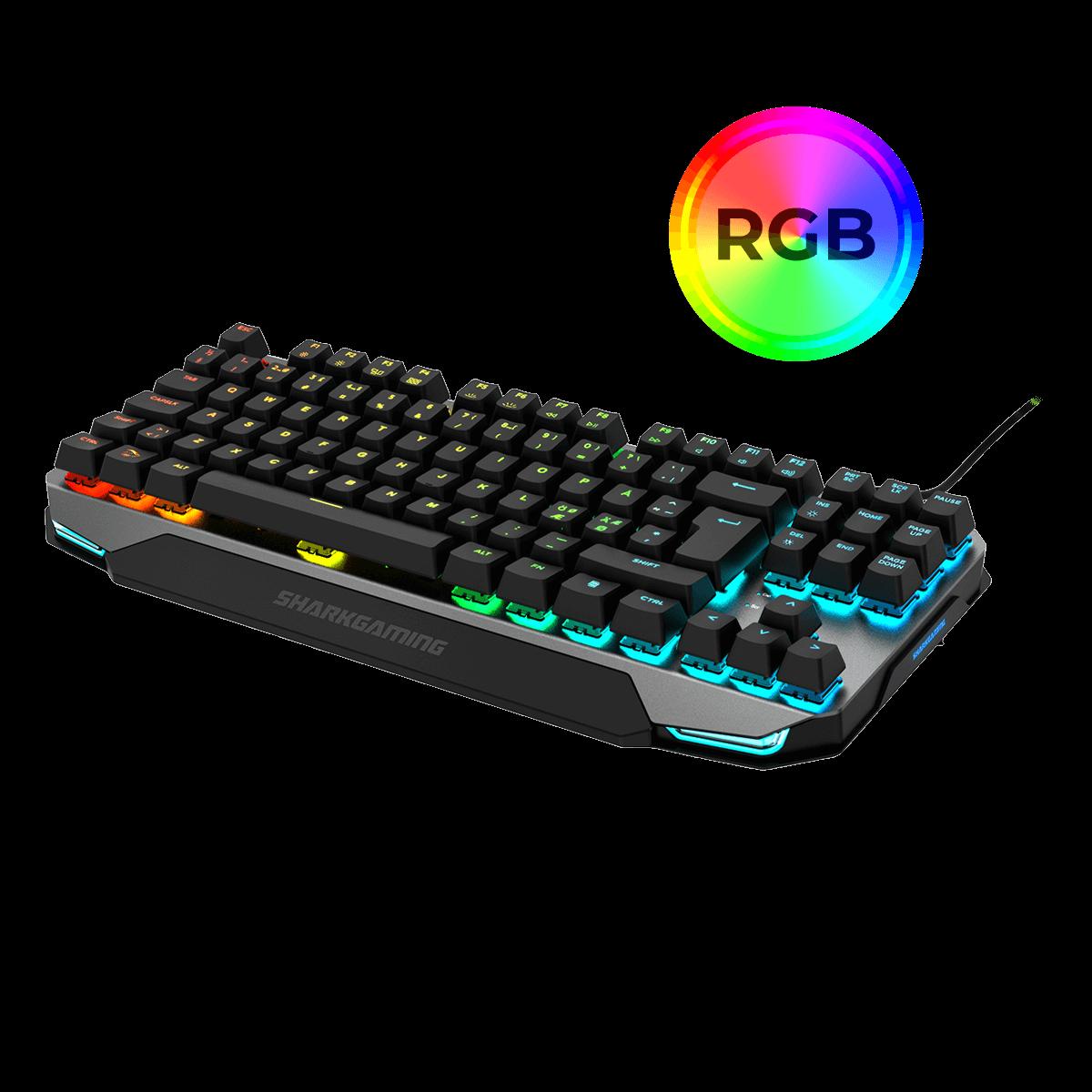 RGB Shark Venator TKL Gaming Tastatur