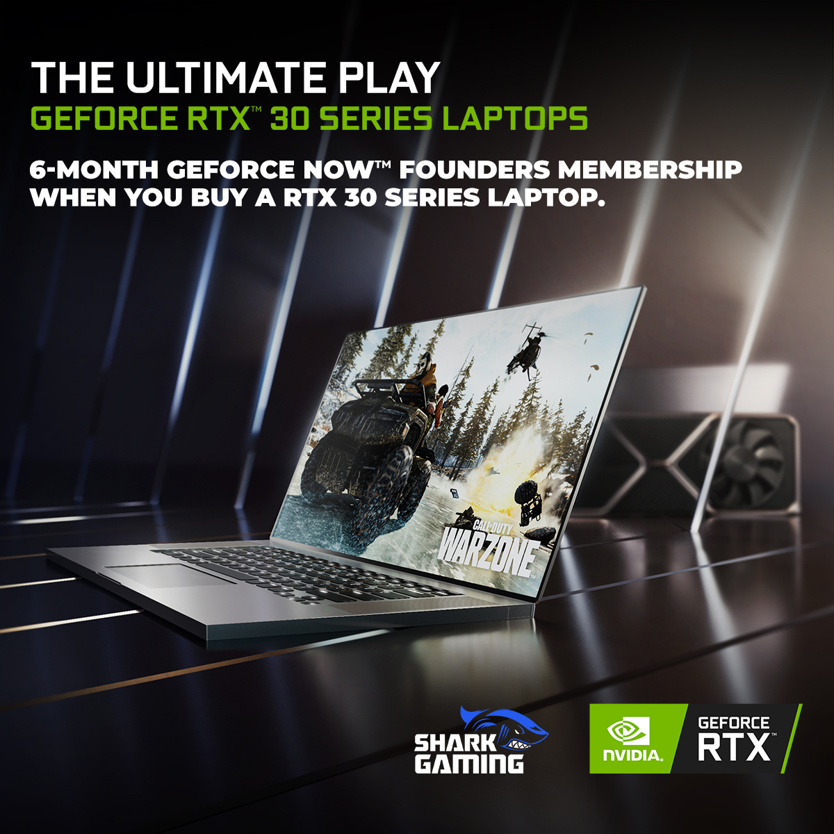 GeForce NOW (RTX 30 Series Laptops)