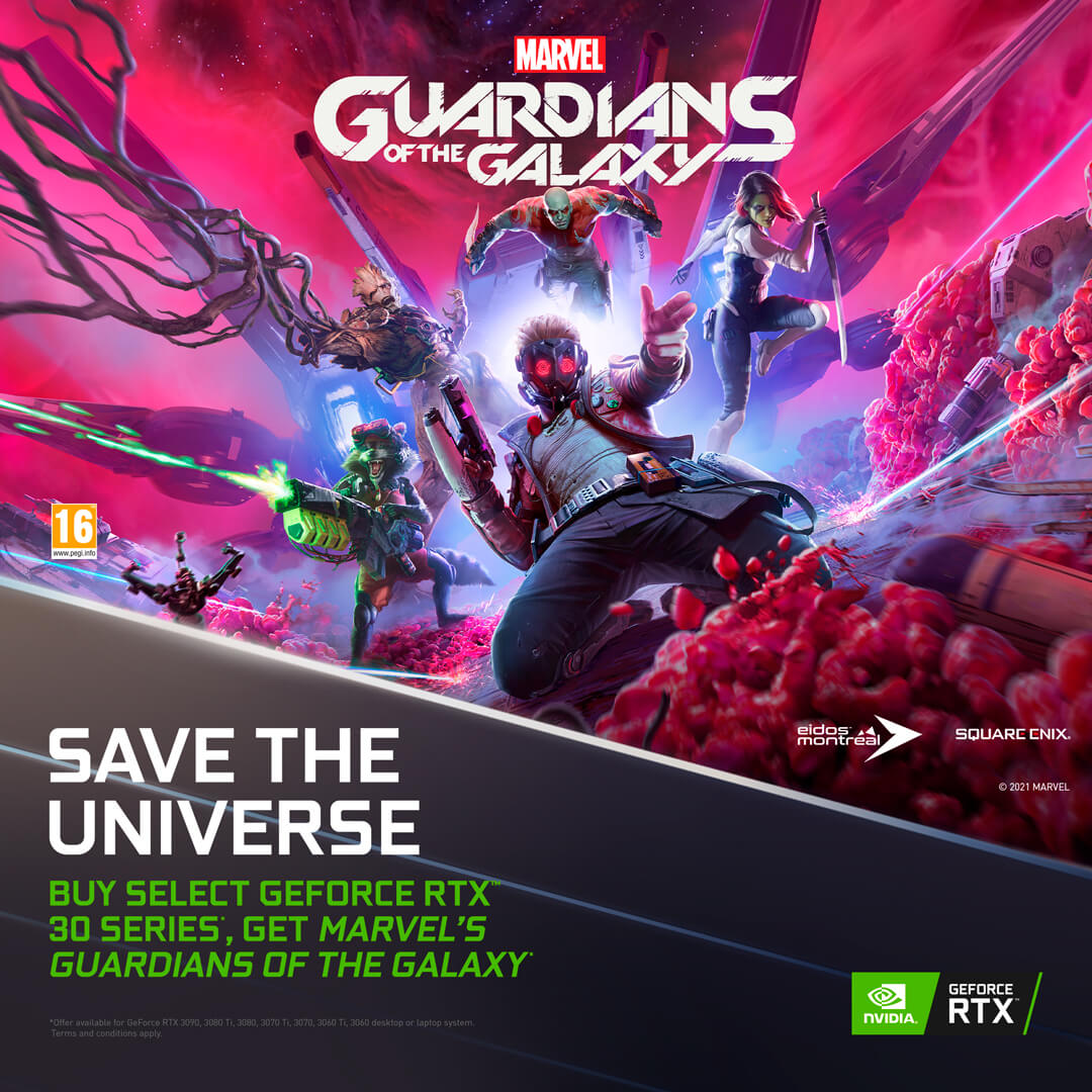Marvel's Guardians of the Galaxy RTX bundle (PC)