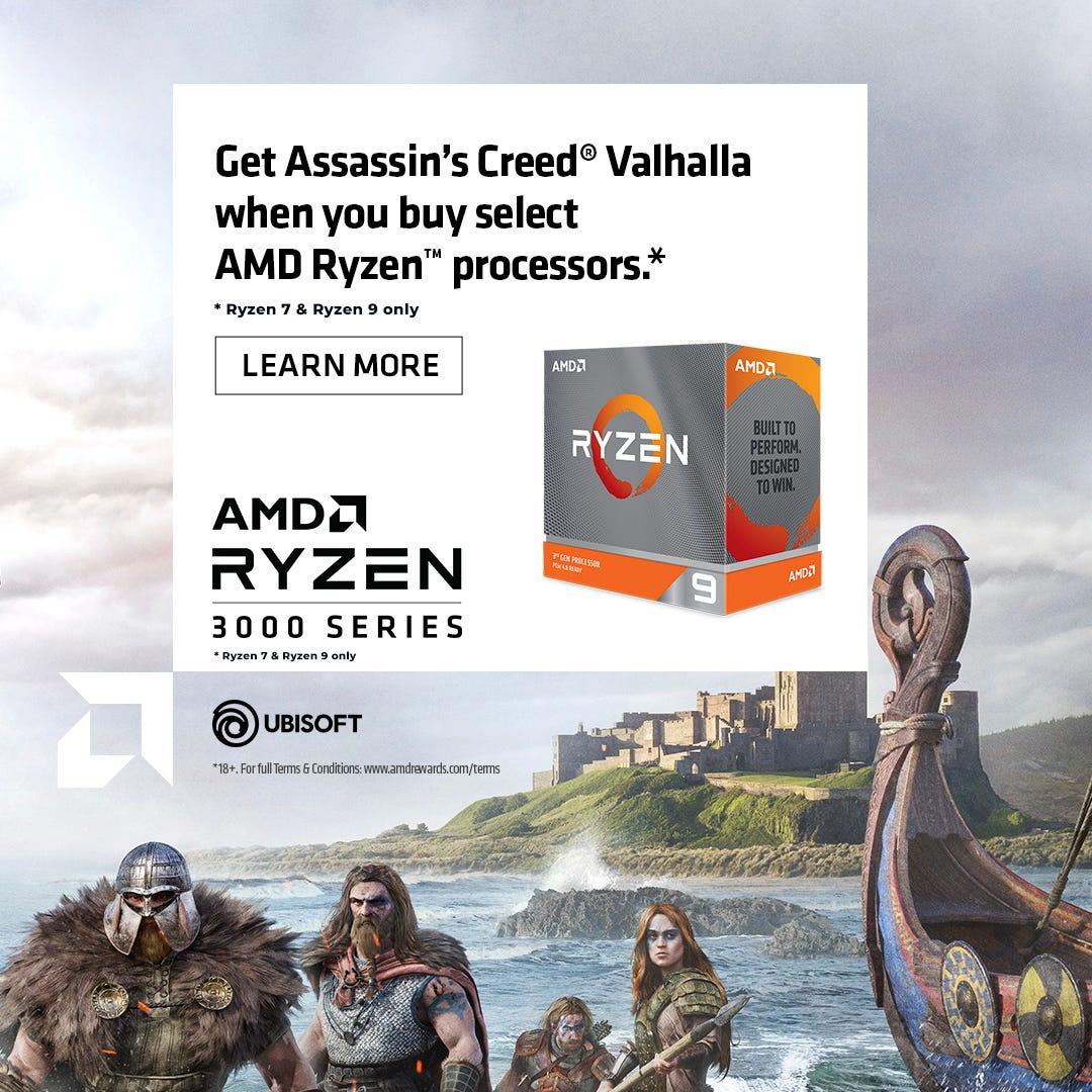 Ryzen Game Bundle - Assassin's Creed Valhalla