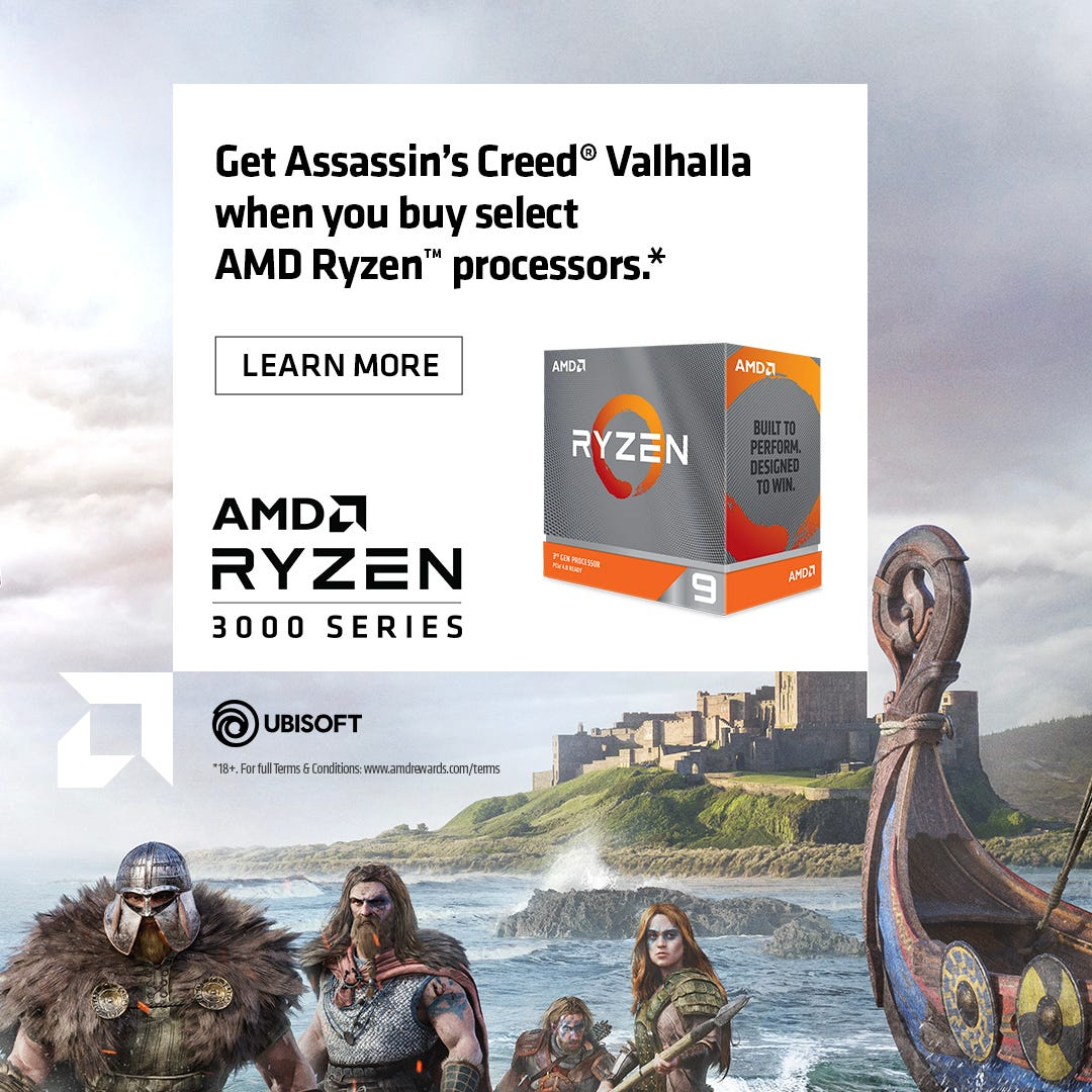 Ryzen Game Bundle - Assassin's Creed Valhalla
