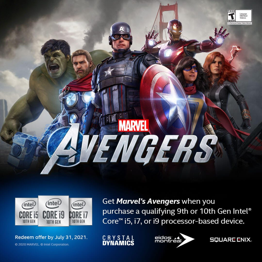 Marvel's Avengers Gaming Bundle 2021
