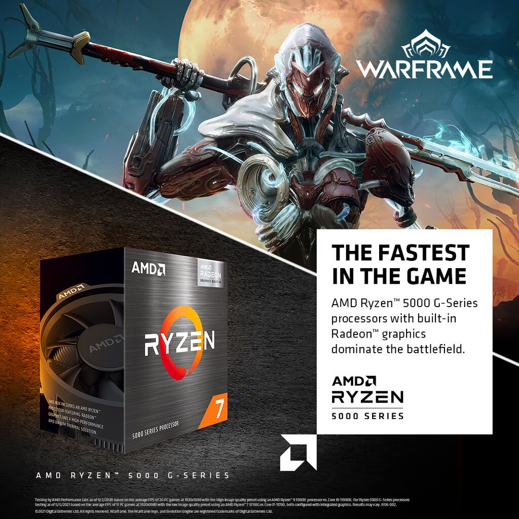 AMD Warframe G-Series Pack Bundle