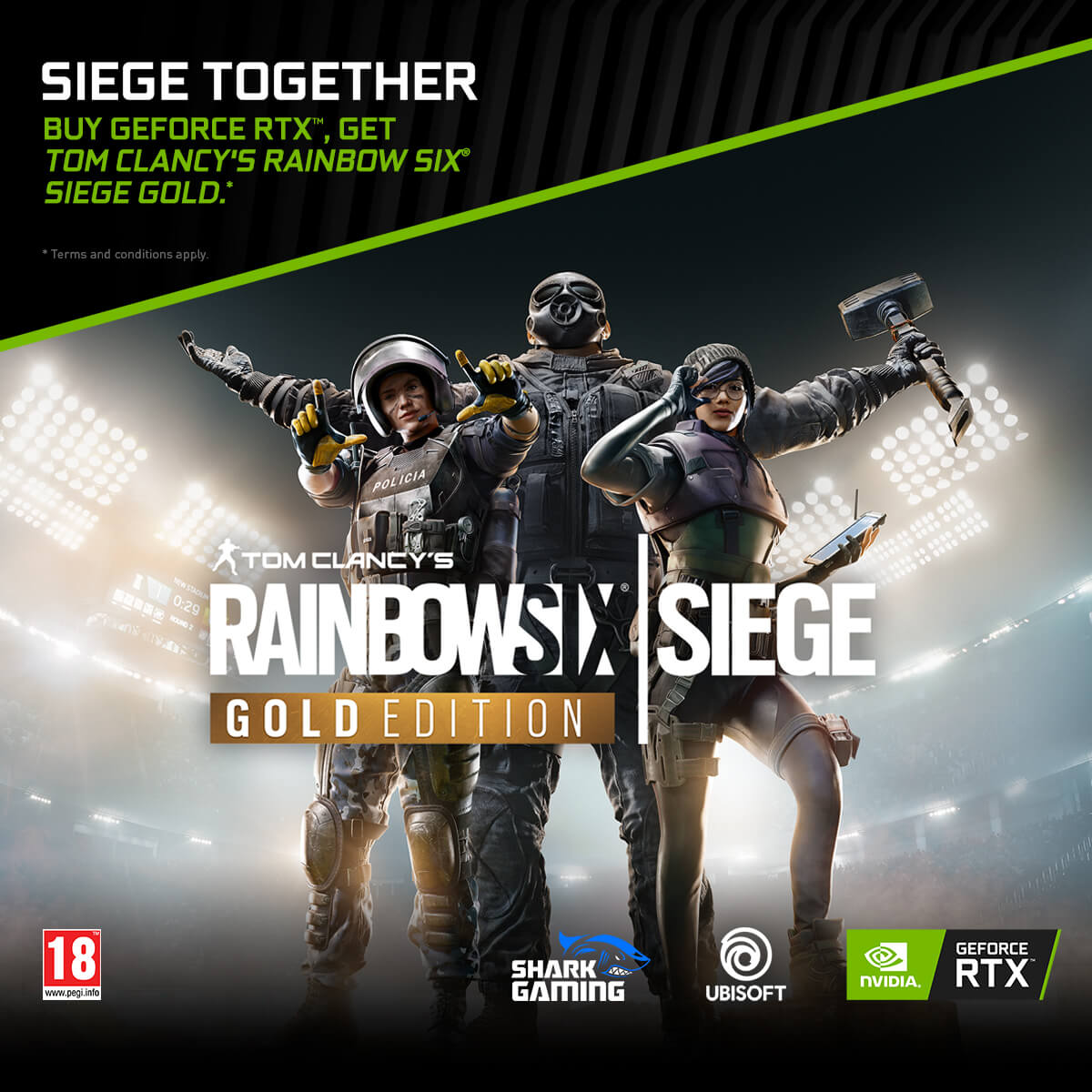 NVIDIA Siege Together