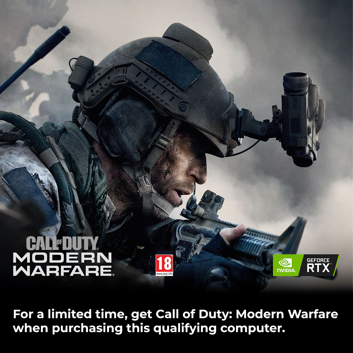 NVIDIA Call of Duty Modern Warfare System Build