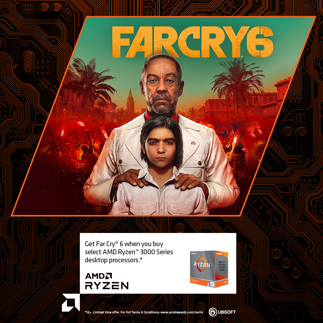 AMD Ryzen Game Bundle - Far Cry 6