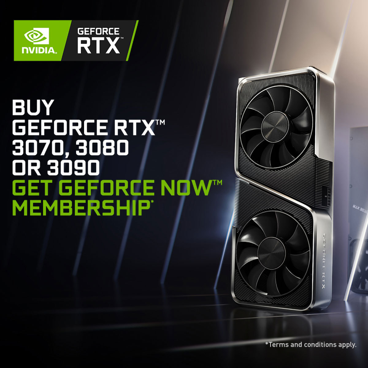 GeForce NOW (RTX 3070, 3080, 3090)