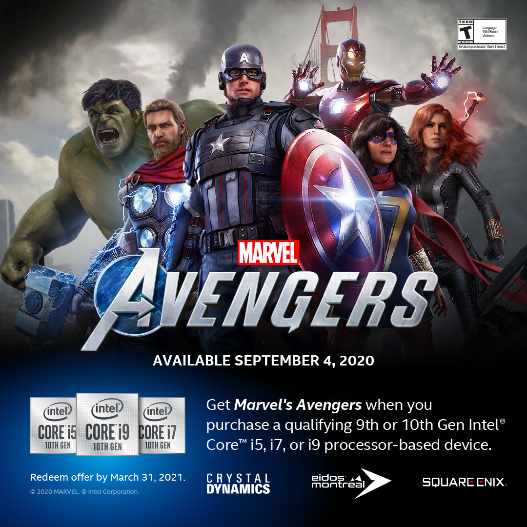 Marvel's Avengers Gaming Bundle