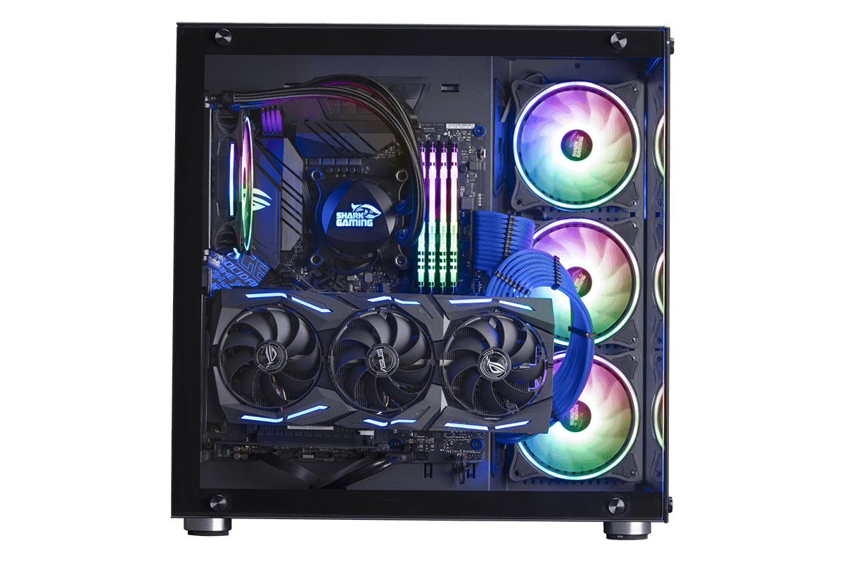 Shark Megalodon Gaming-PC
