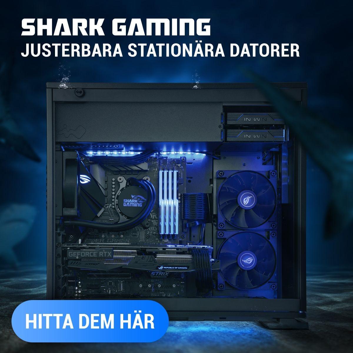 Shark Gaming Stationära Datorer