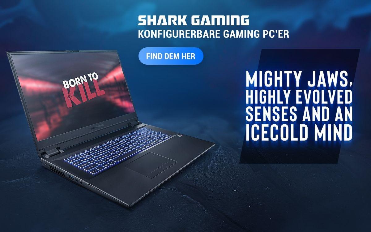 Shark Gaming Bærbare Computere