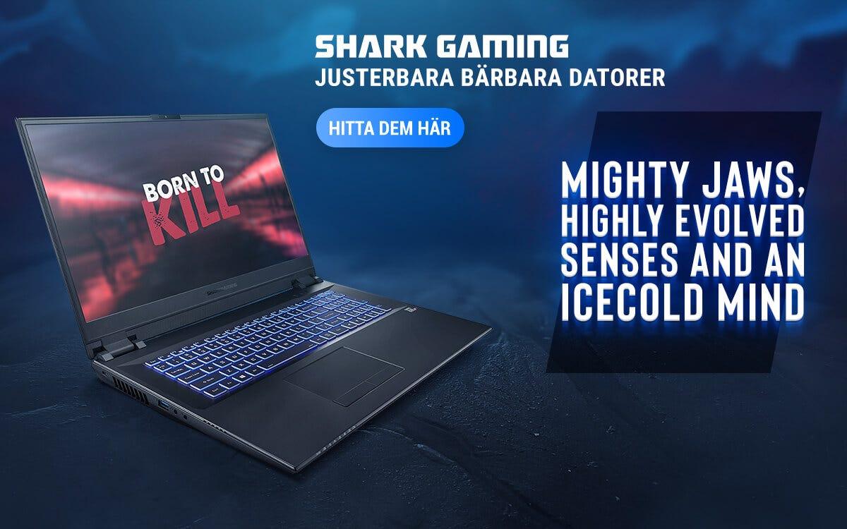 Shark Gaming Bärbara Datorer
