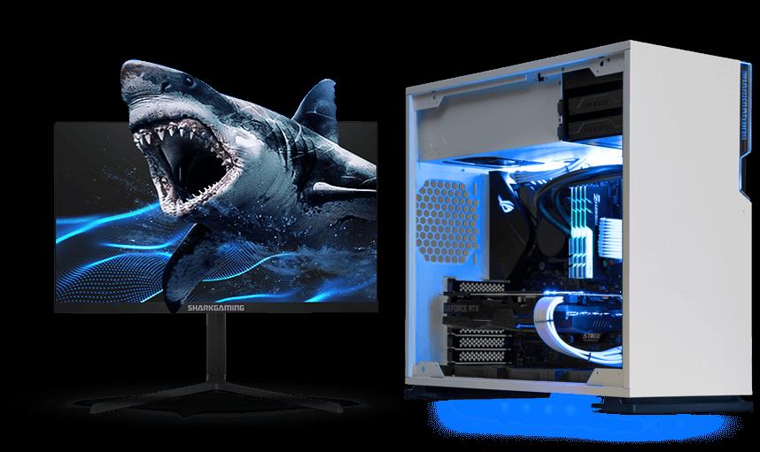 White Shark Megalodon