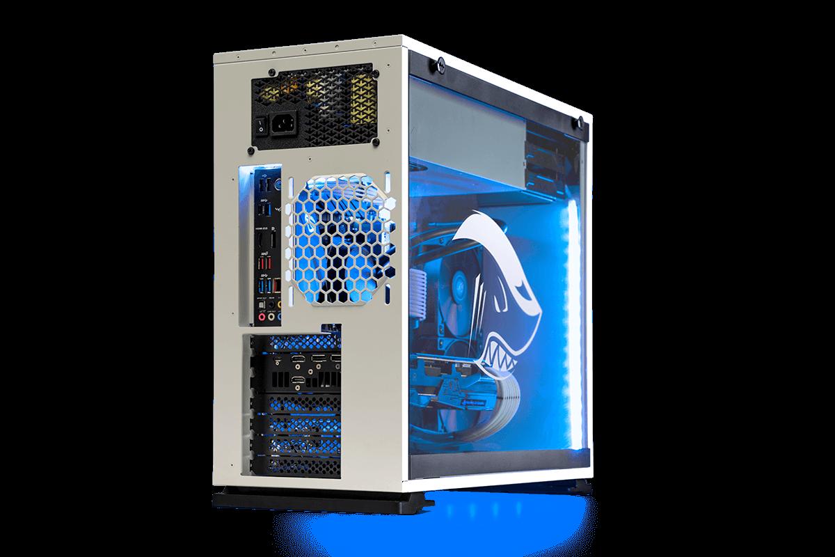 White Shark Megalodon AMD Gaming PC