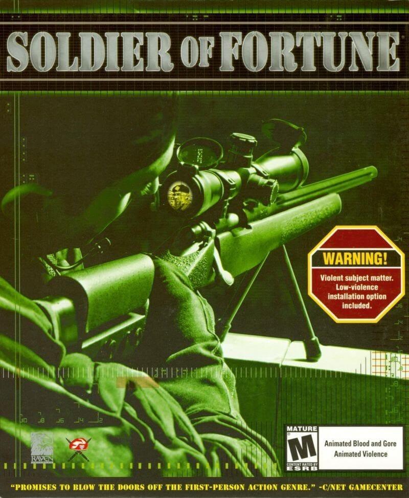 Soldier of Furtune PC coverbillede